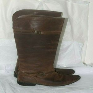 Frye Boots Shirley Womens Sz 8.5B Leather boots